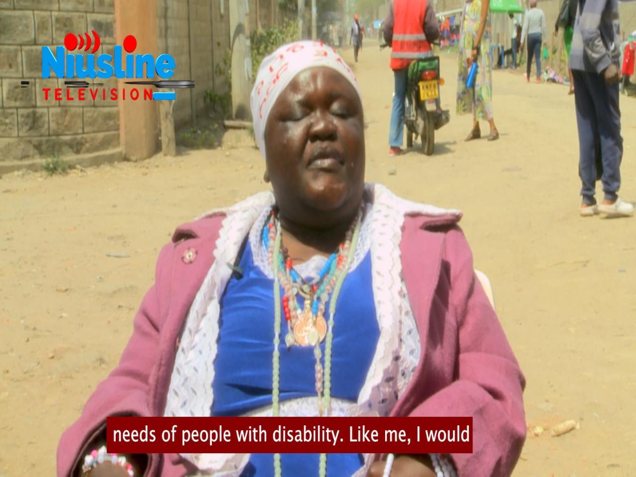 Topista Ayuma , a business lady in Kitengela